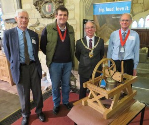 Peter Ormerod, Will Ruck, The Mayor & Hugh Evans